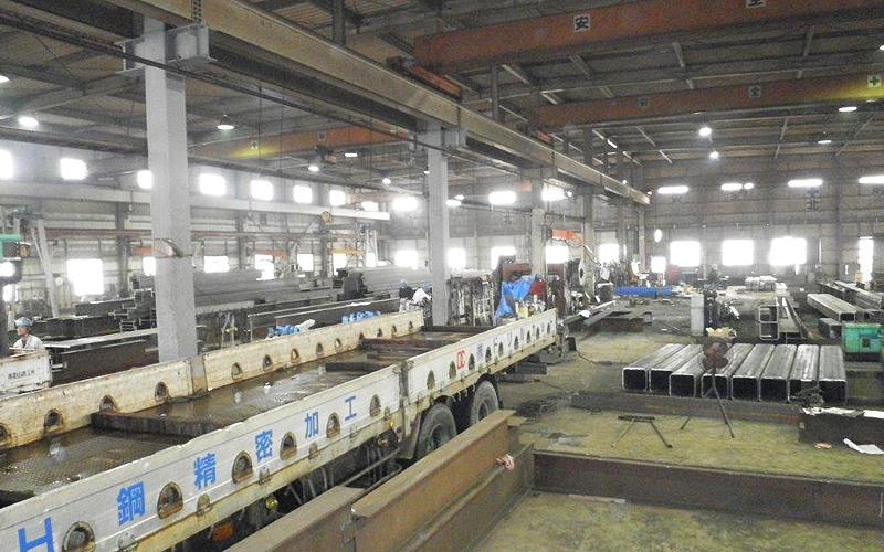 ドリルカット 御前崎工場 内部